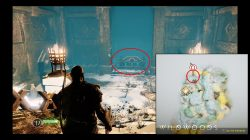 god of war idunn apple locations