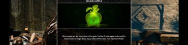 god of war idunn apples locations how to solve rune puzzles