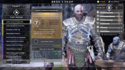 god of war ivaldis curias of endless mist niflheim best armor
