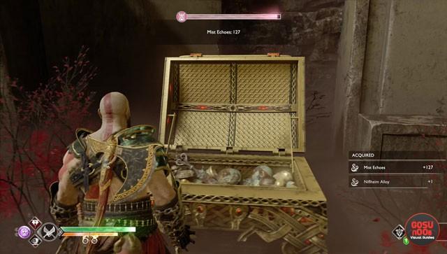 god of war niflheim alloy aesirbane haze weave locations