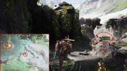 god of war rune chest cliffs of the raven