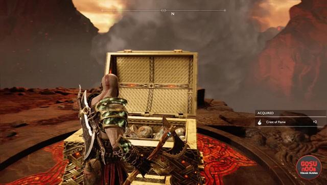 god of war smouldering ember greater crest of flame