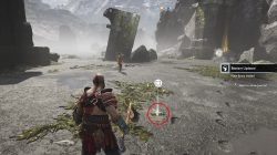 god of war treasure map location historian