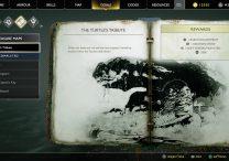 god of war turtle's tribute treasure map