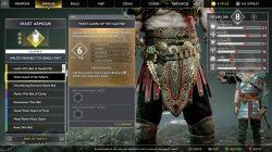 god of war waist guard of the valkyrie