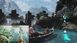 god of war yggdrasil's dew lake of nine