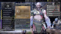 smouldering brimstone gauntlets god of war muspelheim armor