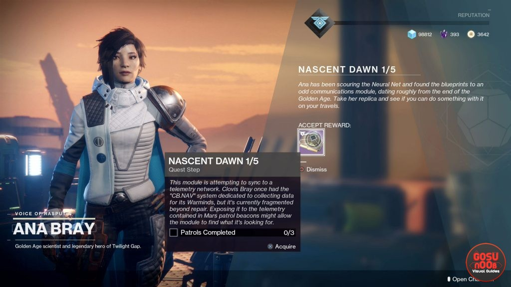 destiny 2 nascent dawn 1/5 mission override frequency