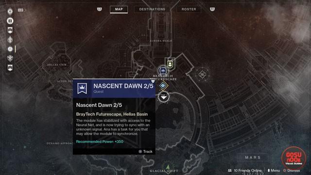 destiny 2 nascent dawn 2/5 javelin kills psionic potential heroic