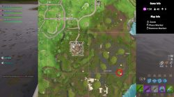 fortnite br bench ice cream truck helicopter locations