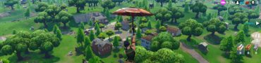 fortnite br follow treasure map found in salty springs