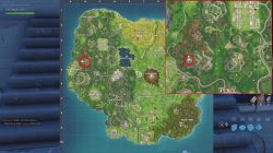 greasy grove treasure map location
