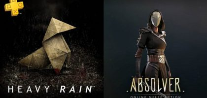 PlayStation Plus Free Games in July 2018 Include Heavy Rain & Absolver