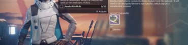 destiny 2 nascent dawn 5/5 javelin multikills alton dynamo cache