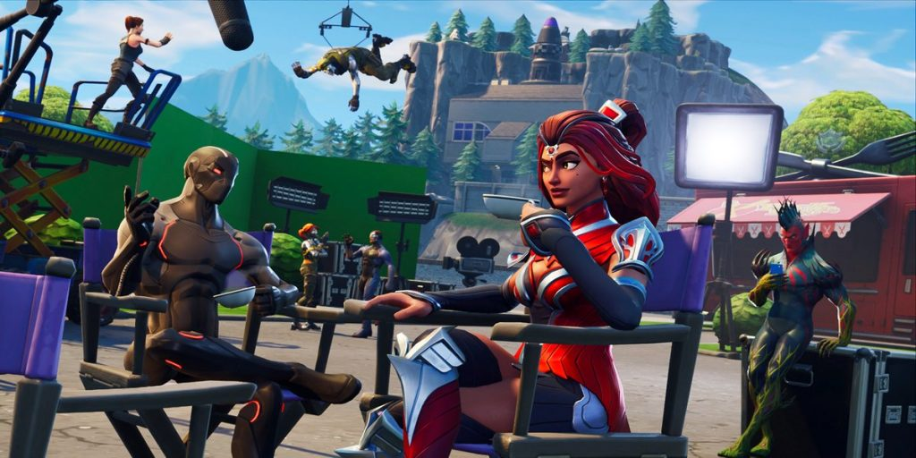 fortnite br season 4 week 6 blockbuster loading screen