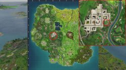 fortnite br follow the map found in pleasant park