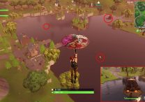 fortnite br loot lake chests rowboat