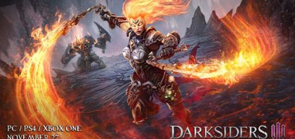 Darksiders 3 Release Date Confirmed for Late November