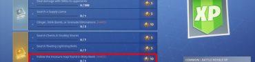 Fortnite BR Risky Reels Treasure Map Location Weekly Challenge