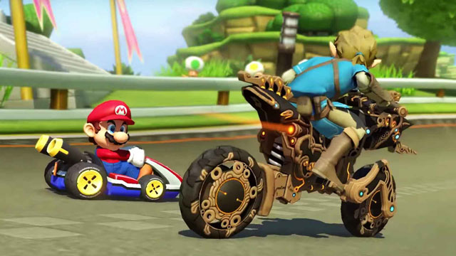 Mario Kart 8 Deluxe Adds Breath of the Wild Link & Motorcycle