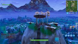 Stunt Mountain Fortnite Location