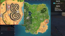 fortnite br atk location race track