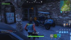 fortnite br golf cart locations