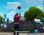 fortnite br score a basket on different hoops
