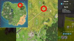 fortnite br season 5 week 1 risky reels treasure map location