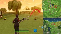 Fortnite Hit a Hole in One From Different Tees LOCATIONS