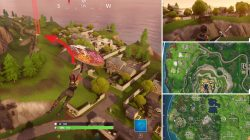Fortnite Jumping Ramp Snobby Shores Location