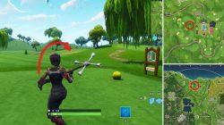 Golf Ball Tee Locations Fortnite BR