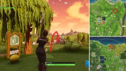 Hit a Hole in One from Different Tees LOCATIONS Fortnite the Game