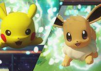 Pokemon Let's Go Eevee & Pikachu - Similarities with Pokemon GO