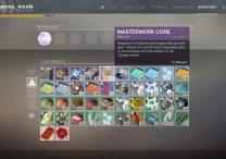 Destiny 2 Forsaken Masterwork Cores
