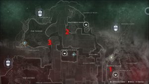 Destiny 2 Nessus Dead Ghost Location Map