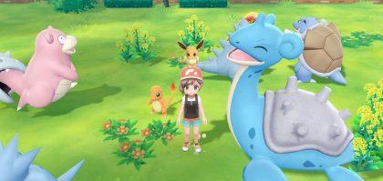 Pokemon Let's Go Pikachu & Eevee New Details Revealed in Trailer