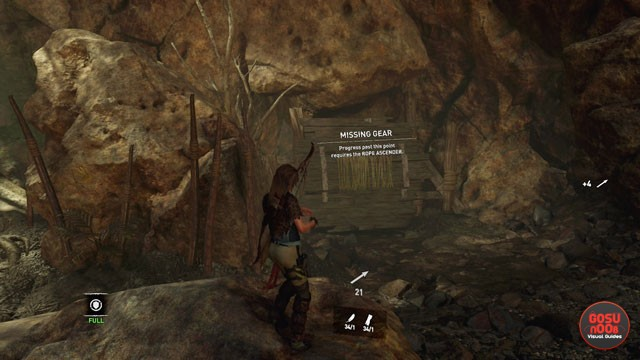 Rope Ascender in Shadow of the Tomb Raider - How to Get Missing Gear