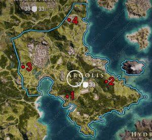 ac odyssey ancient tablet locations argolis
