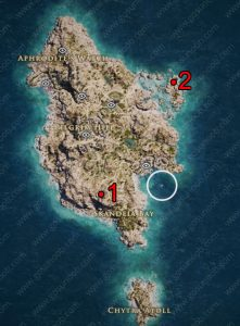 ac odyssey ancient tablets kythera