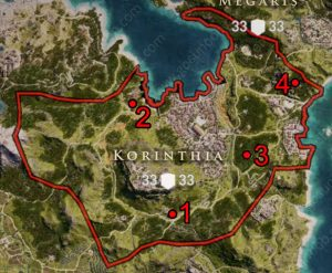 ac odyssey where to find ancient tablets korinthia