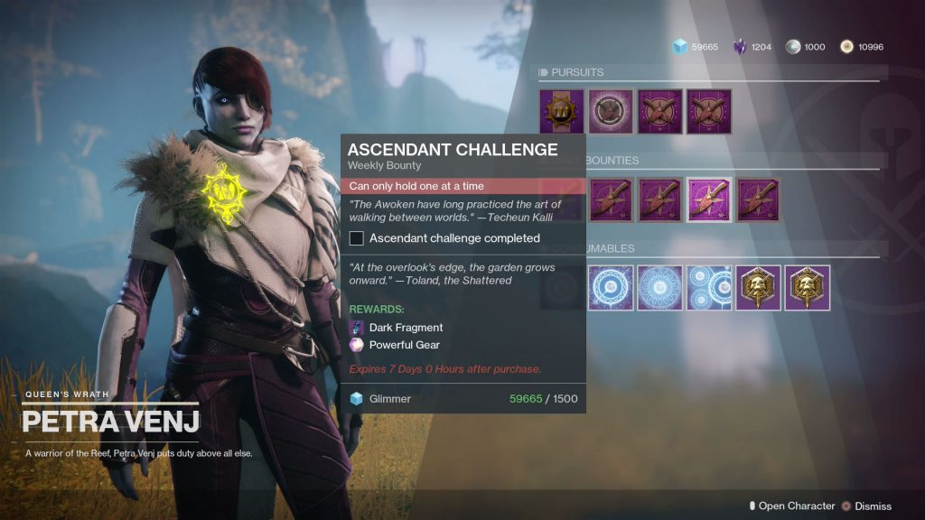 destiny 2 ascendant challenge garden overlook's edge