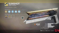 destiny 2 sunshot