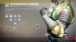destiny 2 wormgod caress