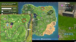 fortnite br search between covered bridge waterfall 9th green battle star