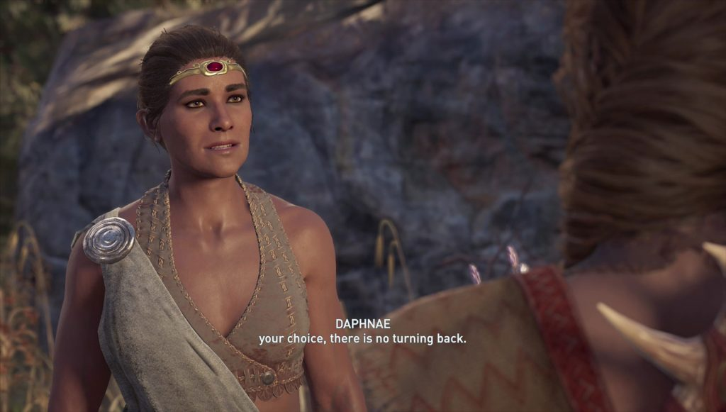 AC Odyssey Daphnae Kill Romance Leave Ending