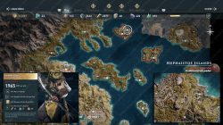 AC Odyssey Herakles bow legendary chest location map