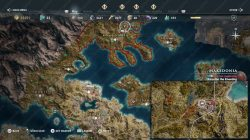 Achilles spear legendary chest location map assassins creed odyssey