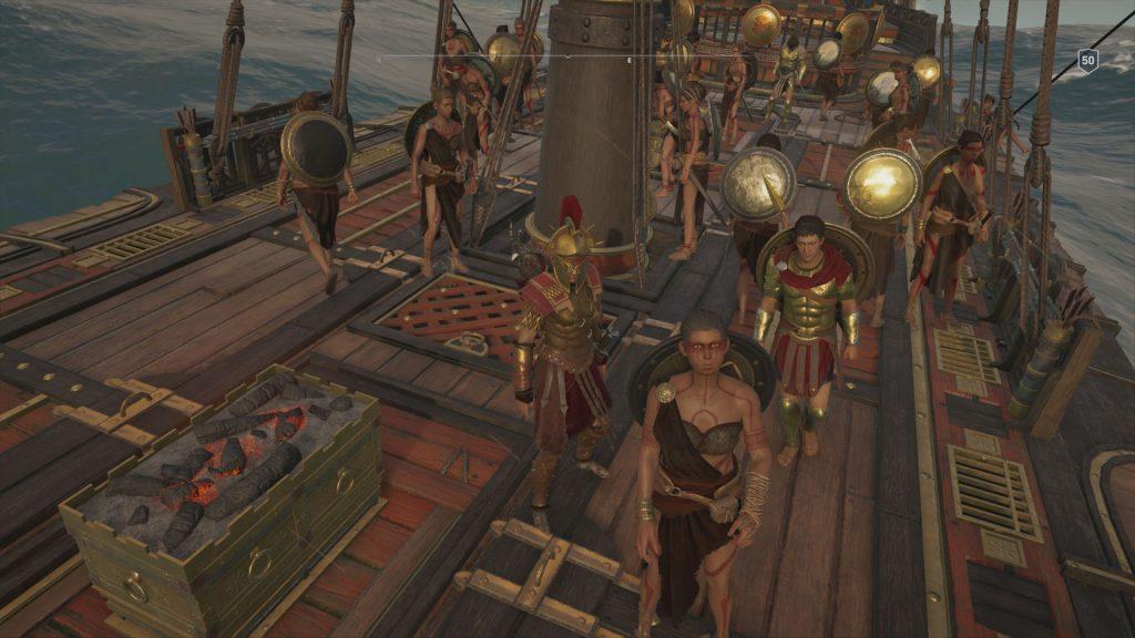 Assassin's Creed Odyssey Daughters of Artemis Legendary Crew Skin