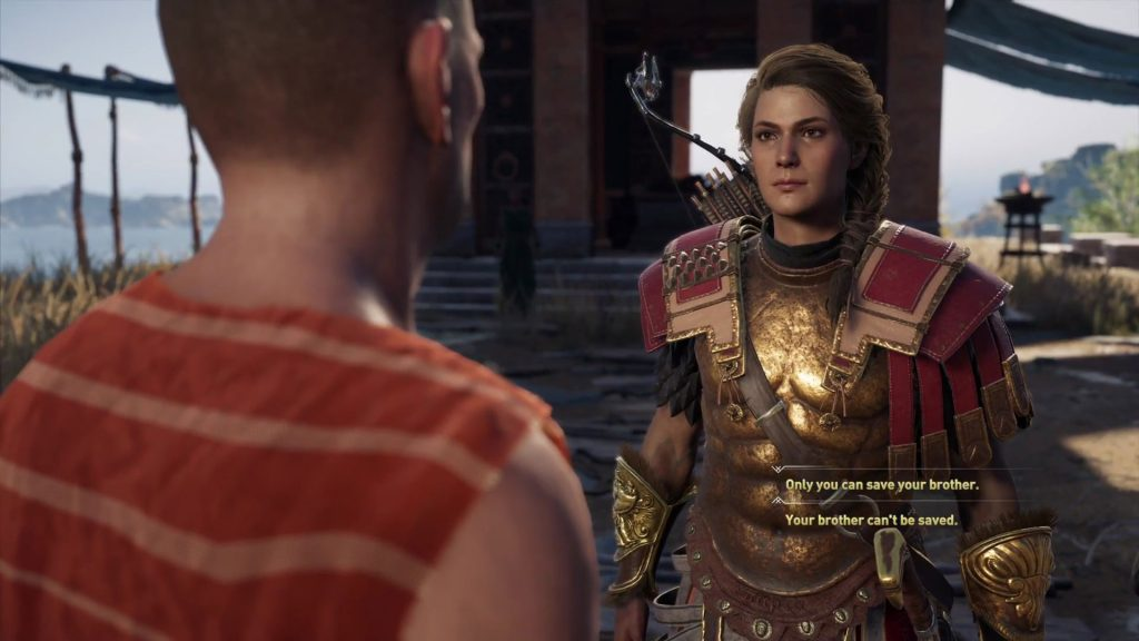 Assassin's Creed Odyssey Kingfisher & Robin Quest - Save Brother or Not Choice
